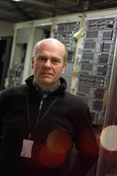 Bilde: Stein Ivar Rødland fra IT Avdelingen i Stavanger Kommune