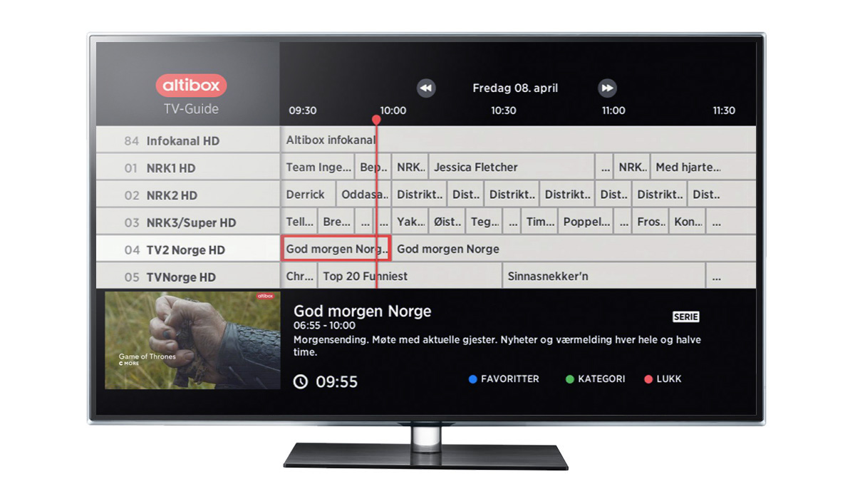 bredbånd tv