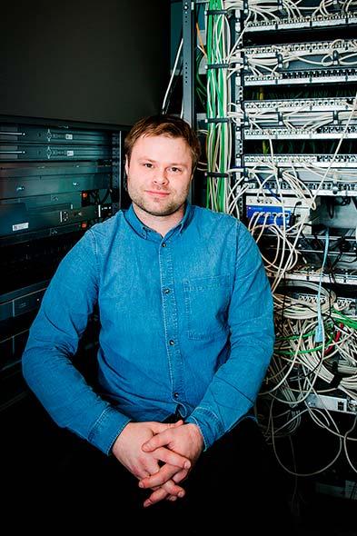 Jan Andre Asmarvik, IT og kommunikasjon ansvarlig, Global Maritime.