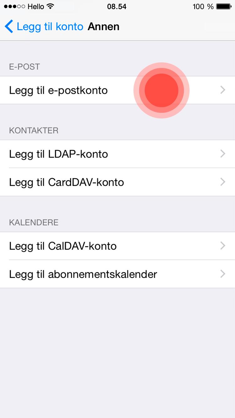 Brukerveiledning_e-post_iOS-Steg-4