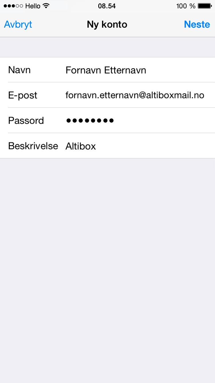 Brukerveiledning_e-post_iOS-Steg-5
