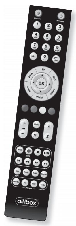 Ruwido remote