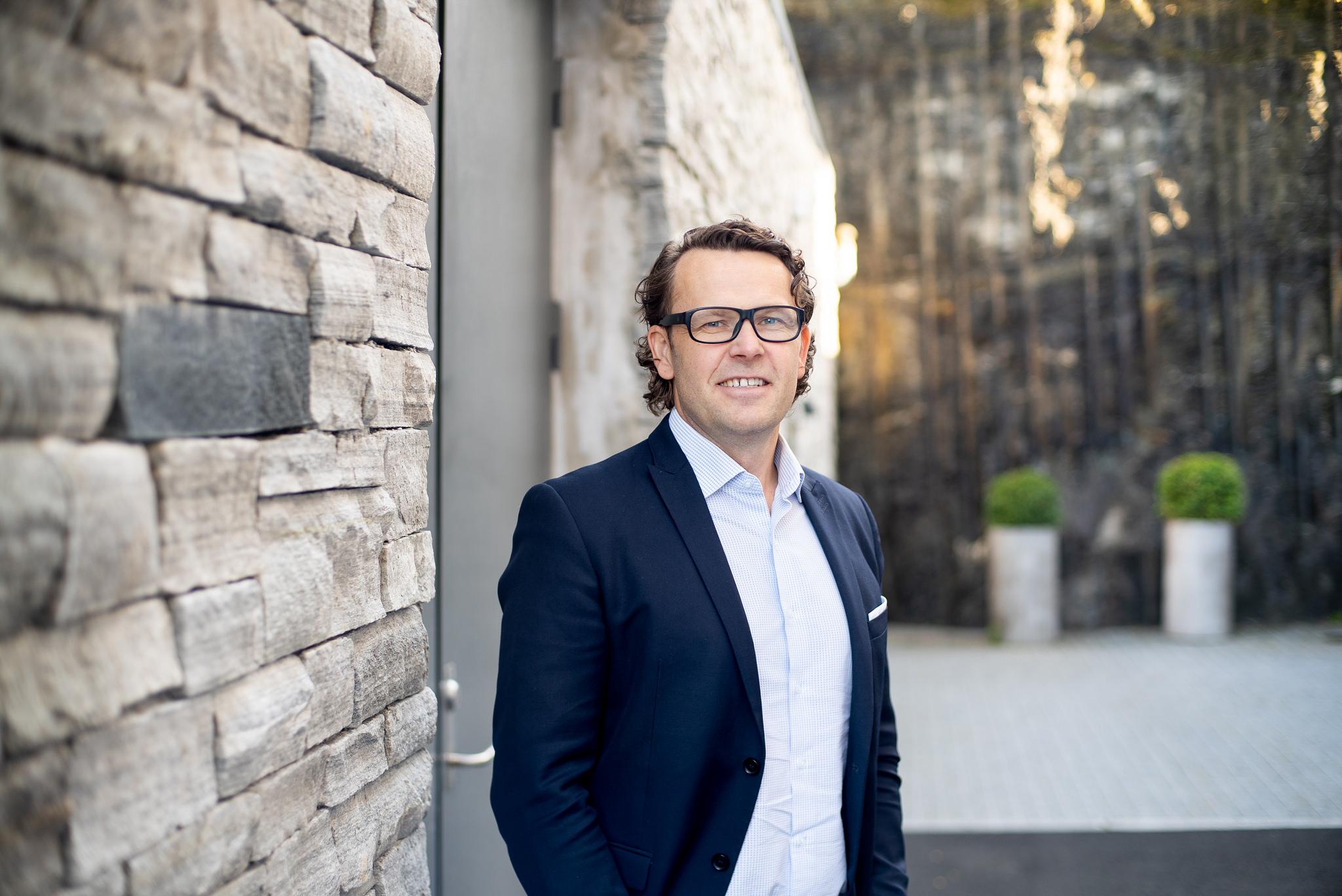 Administrerende direktør Thomas Skjelbred - Foto: Stephan Wetaas