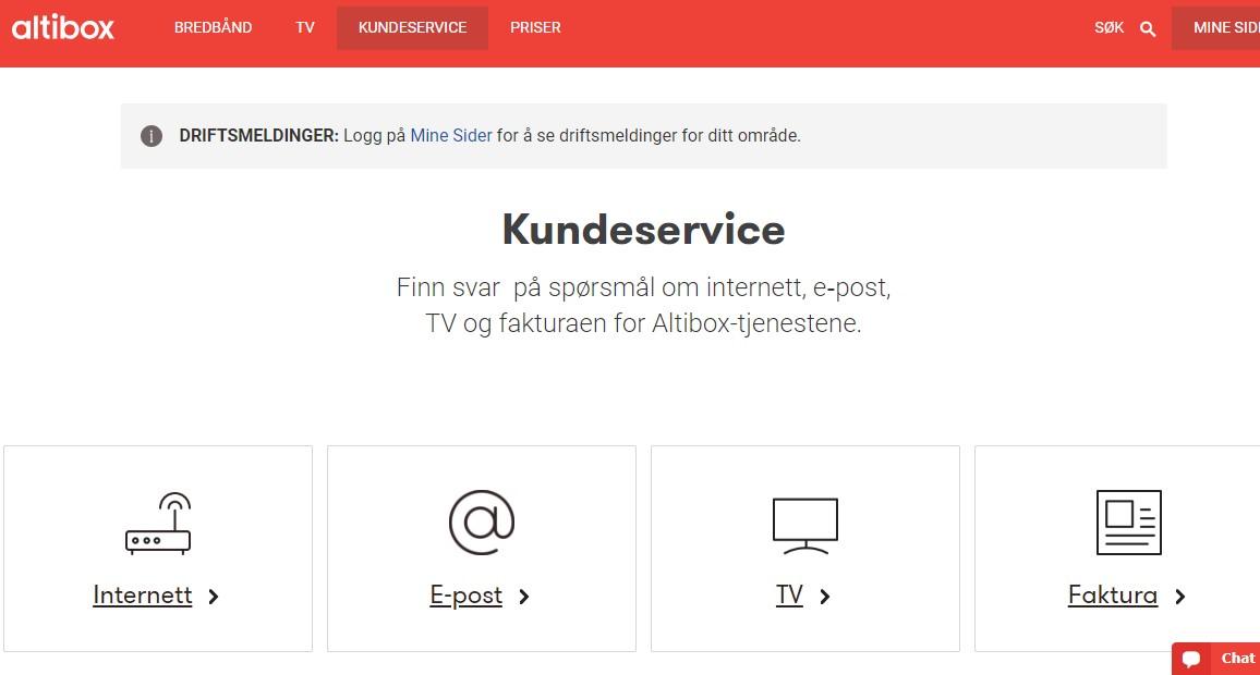 2776cfd5 Kundeservice: Finn svar på spørsmål om bredbånd, tv, e-post og telefoni -  www.altibox.no