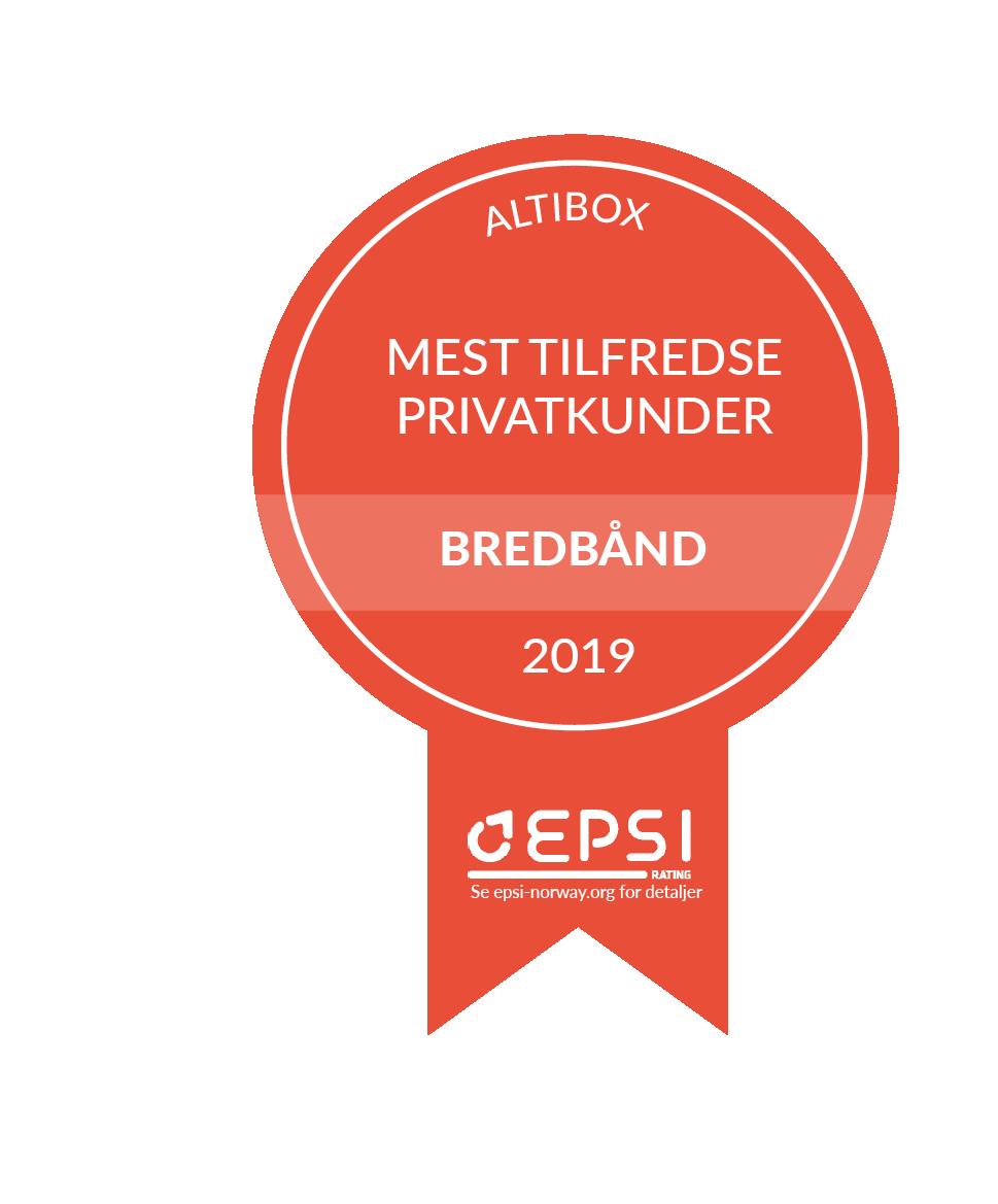 Medaljer_EPSI Norge_bredband B2C 2019
