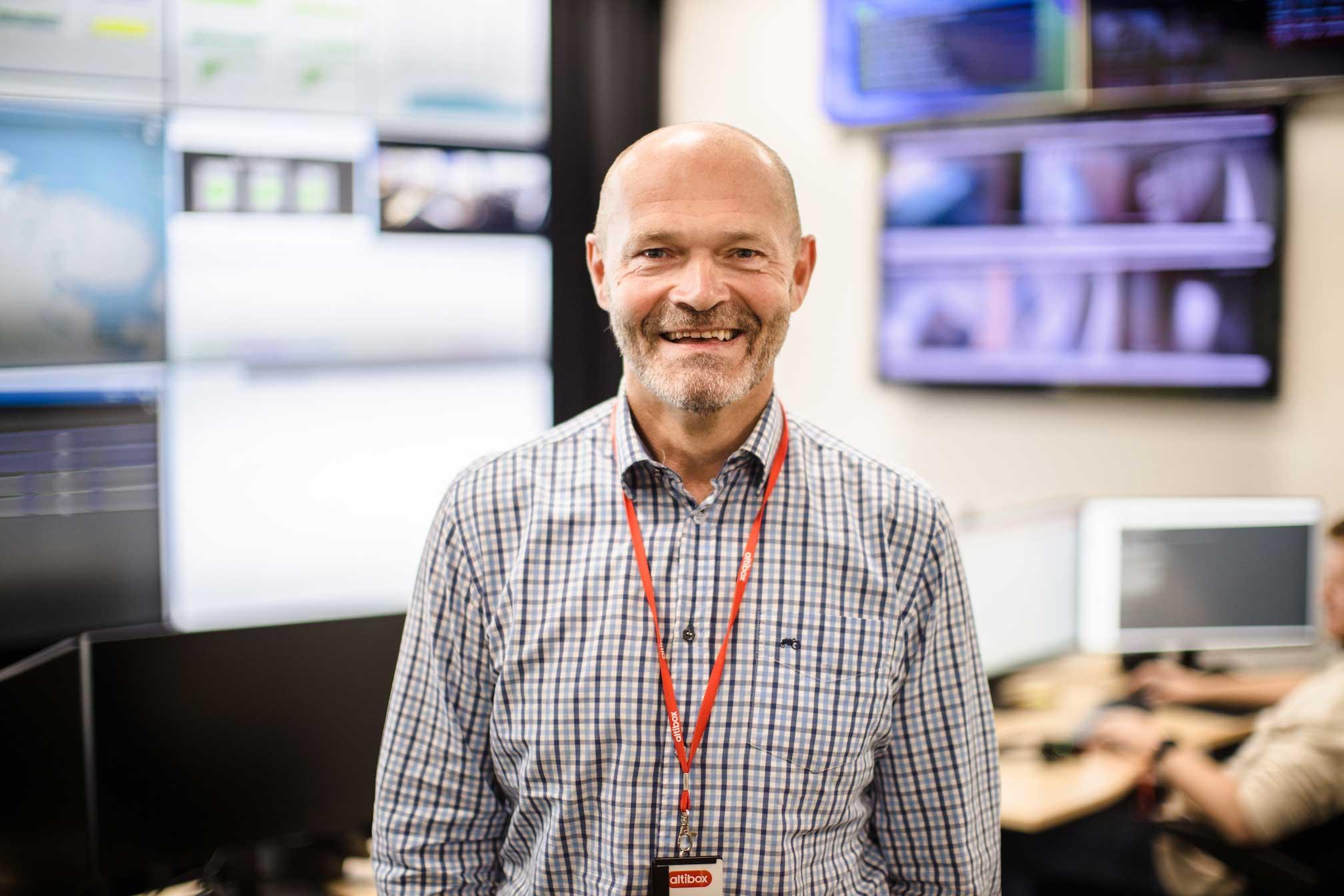 Dag Magne Søyland, direktør i Altibox Bedrift.
